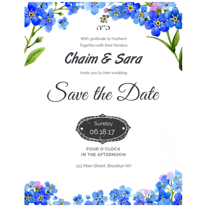 Save the Date 8