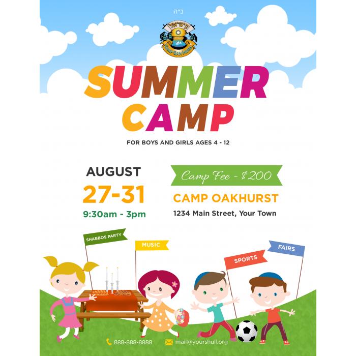 Camp #3 Flyer