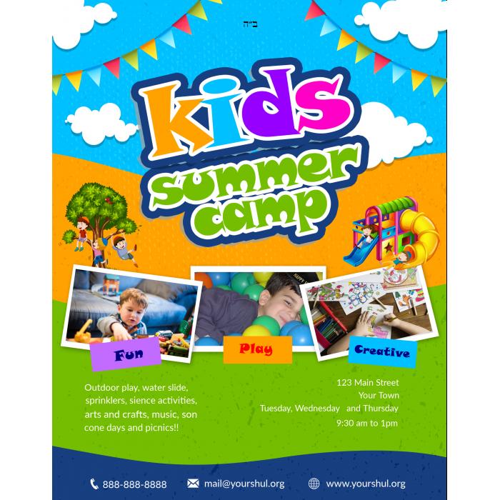 Camp #4  Flyer