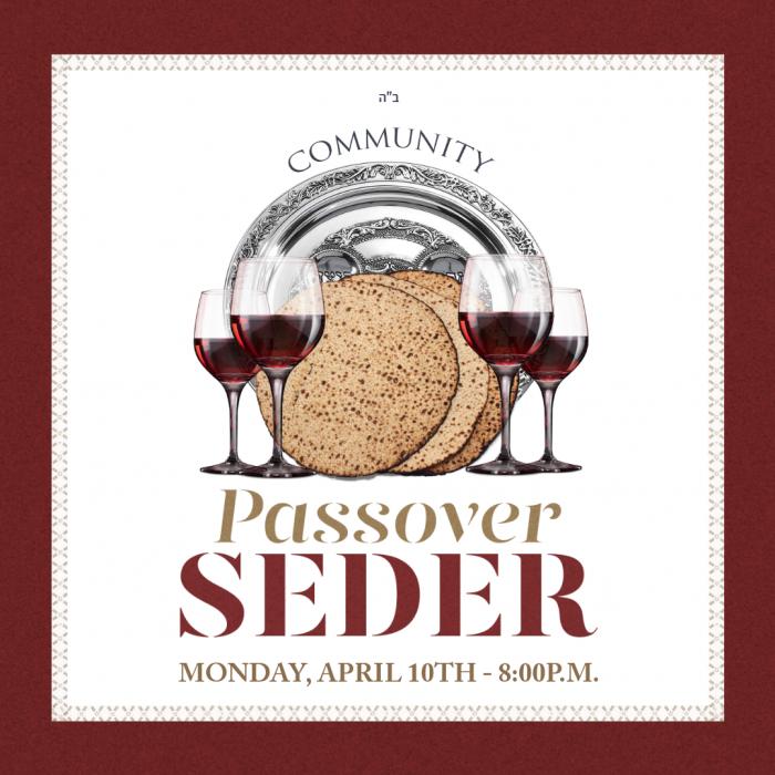 Passover Seder #3 Social Media
