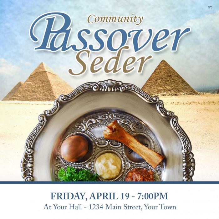 Passover Seder #5 Social Media